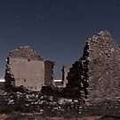 Wonoka Ruin in Moonlight by pablosvista2