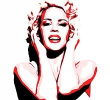 Kylie Minogue - Pink - Pop Art by wcsmack