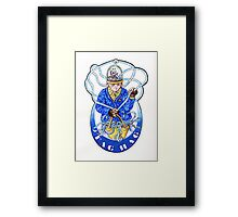 Bring on the TAG HAG Framed Print