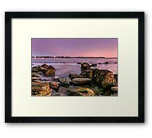 Shelly Beach, Manly Framed Print