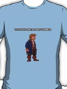 Monkey Island II Shirt - Fight like a Dairy Farmer T-Shirt