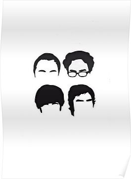 The Big Bang Theory Poster by Swenschi