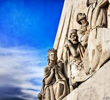God Bless - Padrão dos Descobrimentos Lisbon, Portugal by NSantos