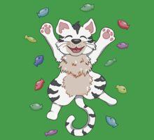 Kitty Heaven White Fur  Kids Clothes