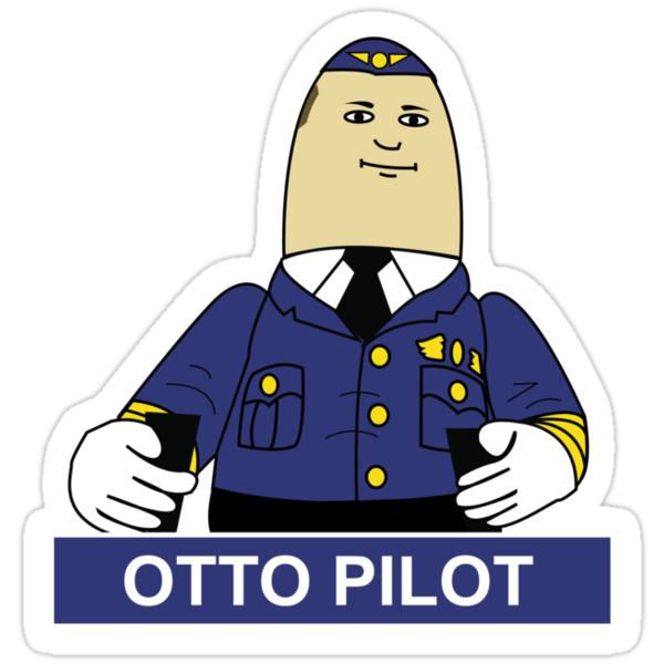 Airplane - Otto the Co-Pilot by metacortex