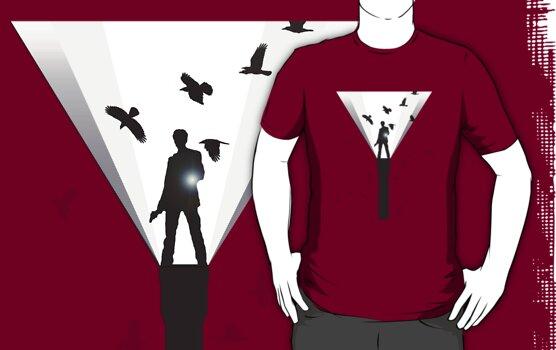 Alan Wake Shirt by Deividas