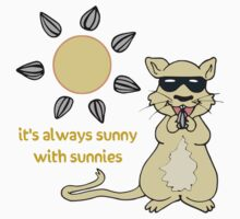 Sunny Sunnies Gerbil by hybridwing