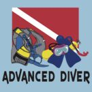 ADVANCED SCUBA DIVER by SportsT-Shirts