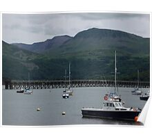 barmouth harbour Poster