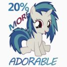 Vinyl Scratch- 20% More Adorable by WiiKitteh