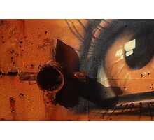 The Rusty Eye - Detail Photographic Print