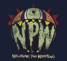 Nightmare Pro Wrestling - Vintage Tee by Jon David Guerra