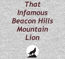 That Infamous Beacon Hills Mountain Lion by entwinedmoon