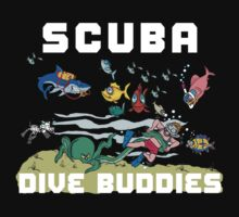 Funny SCUBA Diving by SportsT-Shirts