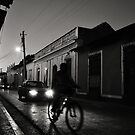 Night Rider in Trinidad de Cuba by Leanne Churchill