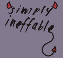 Simply Ineffable- Demon T-Shirt