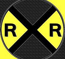 Railroad Crossing Sign by jerry2011