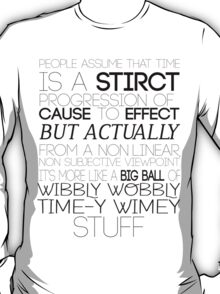 Time (Doctor Who) T-Shirt