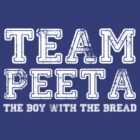 Team Peeta [White] by Jessica King