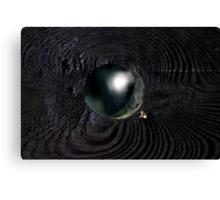 Optical cosmic illusion Canvas Print