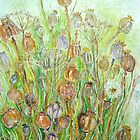 Poppy Seedheads by Nicky Perryman