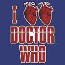 I Heart Heart Doctor Who (v3) by ezcreative