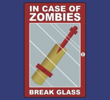 Shaun of the Dead - In Case of Zombie Attack - Cricket Bat by metacortex