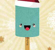 Have a Cool Christmas (Blueberry) by Lisa Marie Robinson