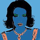 Look-a-Likes: Blue Elizabeth Lohan by PrinceRobbie