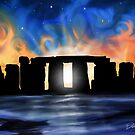 Solstice at Stonehenge by davidkyte