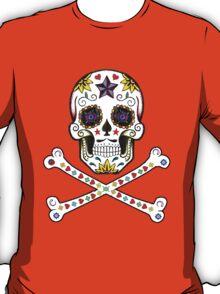 Sugar Skull & Crossbones T-Shirt