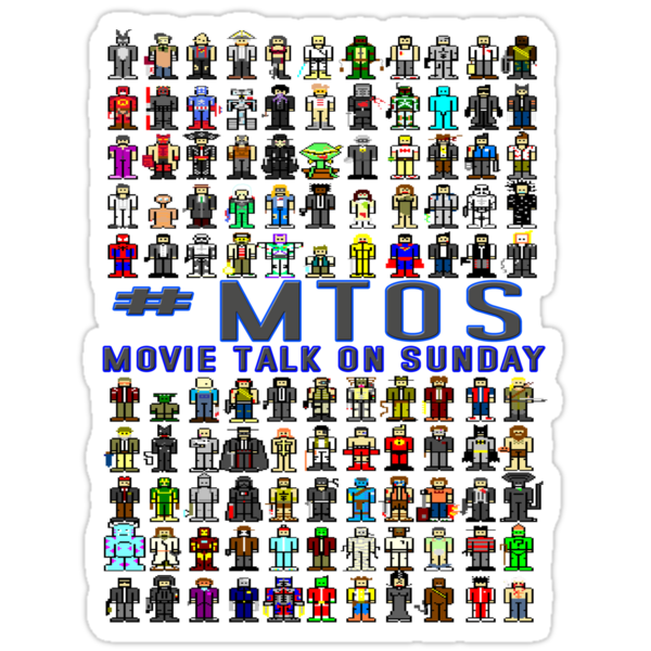 MS Paint Movie Characters '#MTOS Special Edition' by inesbot