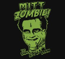 Mitt the Zombie by BUB THE ZOMBIE