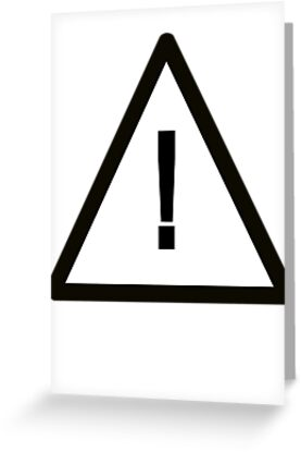 Variation on Safety Alert Symbol by bassdmk