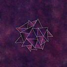 Galaxy Triangles by hannahison