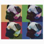 Pug Warhol by shortsleeve