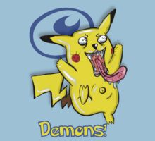 It Came From Hell: Pikachu Horror Design by creativenergy
