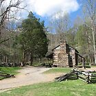 Oliver Cabin in the GSMNP by JeffeeArt4u