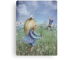 moments of innocence Canvas Print