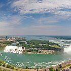 Panoramic View of Niagara Falls by Zoltán Duray