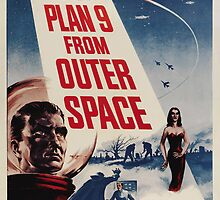 Plan 9 from Outer Space - Classic Sci Fi B-Movie by metacortex