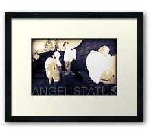 Angel Status® Angel Art Collection benefiting the Children's Cancer Association. (Limited Edition) Framed Print