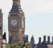 Big Ben by Tim Mizon
