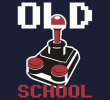 Old School Gamer Joystick by metacortex