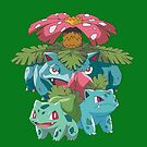 Bulbasaur evol by kjharmon3