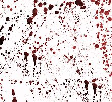 Red Ink Splatter by pondripple