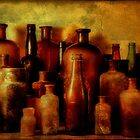 Bottles On Shelf by SuddenJim