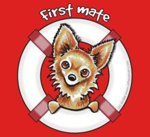 Long Haired Chihuahua :: First Mate by offleashart