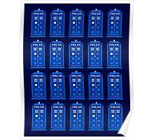 TARDIS PATTERN Poster
