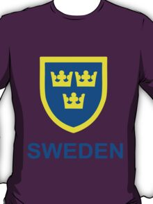 Country - Swedish Three Crowns T-Shirt